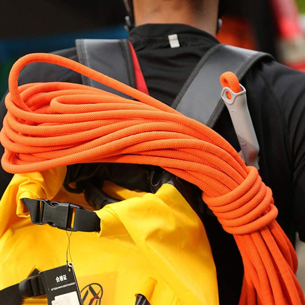 pangyan990 9.5MM /Épaisseur 10 M/ètres descalade en Plein Air Corde De S/écurit/é Ligne De Vie Assurance Corde Sauvage /Équipement De Survie pour Alpinisme Escalade Escalade Alpinisme Corde Auxiliaire