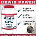 Alpha GPC, 300 mg, 90 Veggie Capsules - SHARP GPC - A Natural Source of Choline