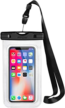 Funda Impermeable Movíl, Mpow Bolsa Impermeable Movil Transparente ...