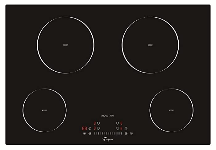 "Empava 30"" Electric Induction Cooktop With 4 Booster Burners Smooth Surface Black Tempered Glass EMPV-IDC30"