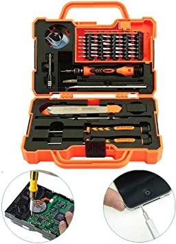 45 en 1 destornillador de precisión electrónica herramientas Set ...