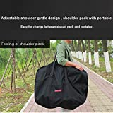 CamGo 20 Inch Folding Bike Bag - Waterproof Bicycle Travel Case Outdoors Bike Transport Bag for Cars Train Air Travel