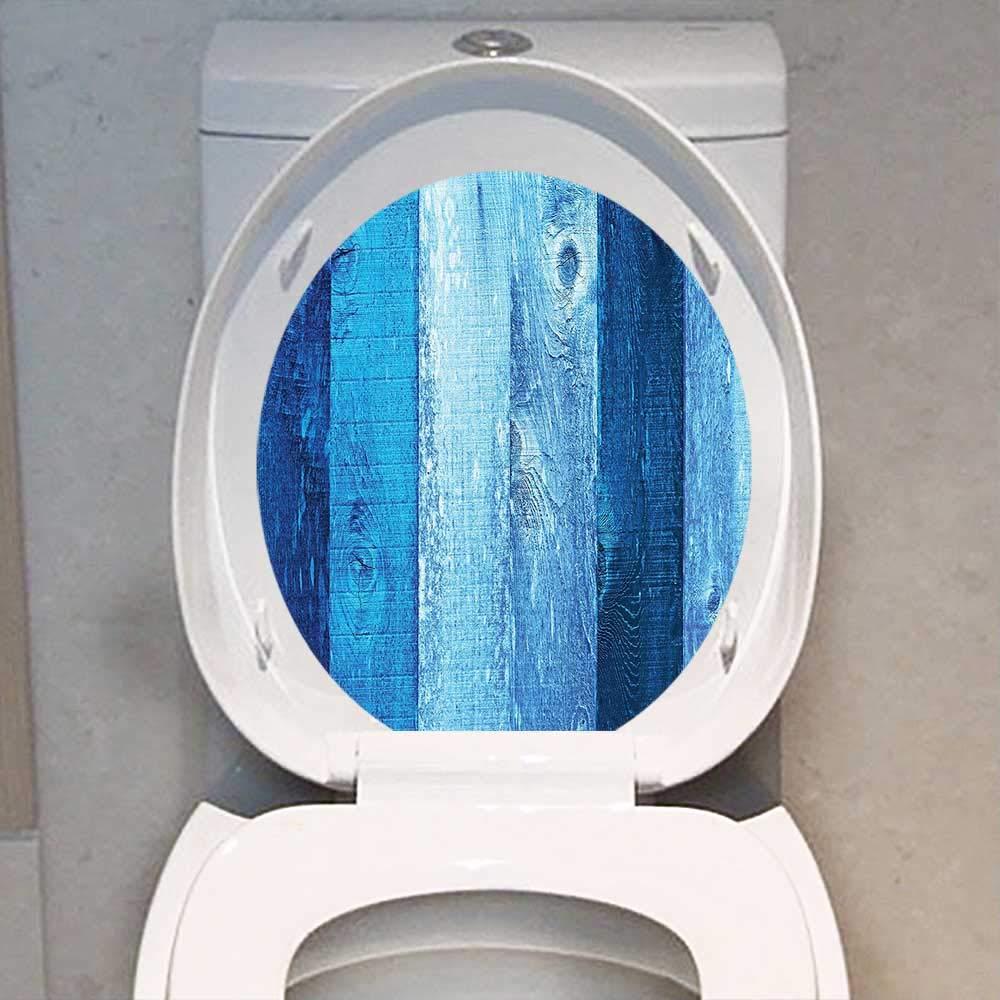 Awesome Amazon Com Toilet Seat Sticker Navy Blue Decor Distressed Uwap Interior Chair Design Uwaporg