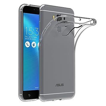 AICEK Funda ASUS ZenFone 3 MAX ZC553KL, ASUS ZenFone 3 MAX Funda Transparente Gel Silicona ASUS ZenFone 3 MAX Premium Carcasa para ZenFone 3 MAX 5.5