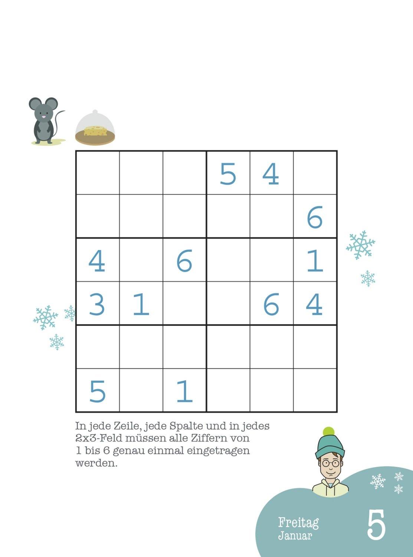 Stefan Heine: Sudoku Kids 5 bis 9 2018 - Tagesabreißkalender ...