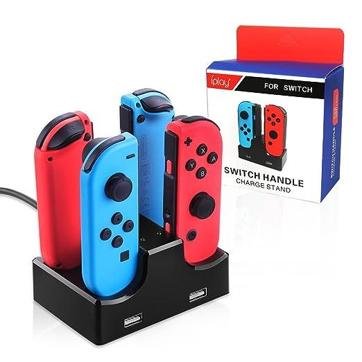Cargador Hilai Joy-con para Nintendo Switch Joy con cargador ...