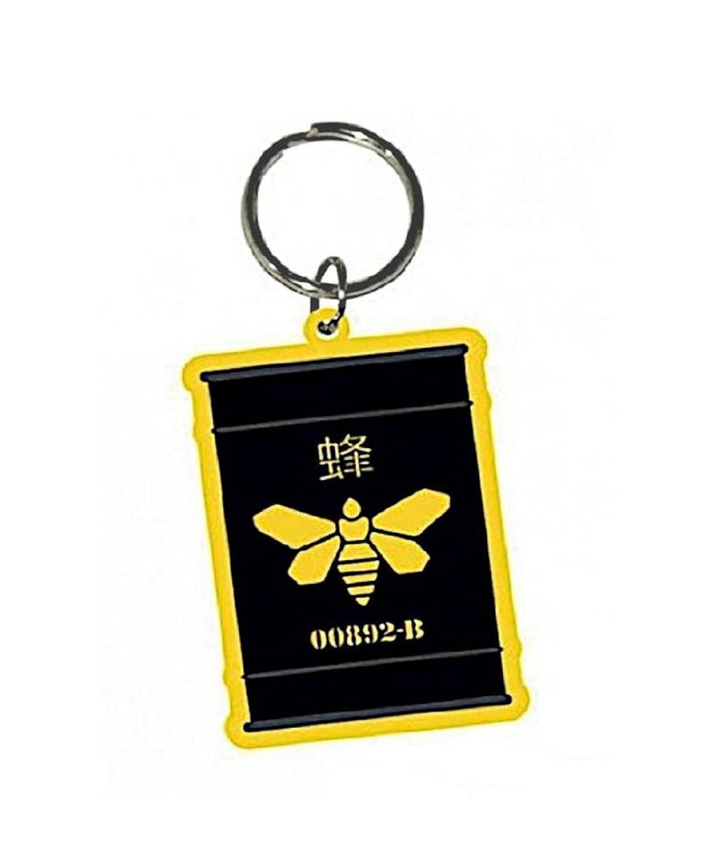 Breaking Bad Golden Moth oficial nuevo Negro Rubber llavero ...