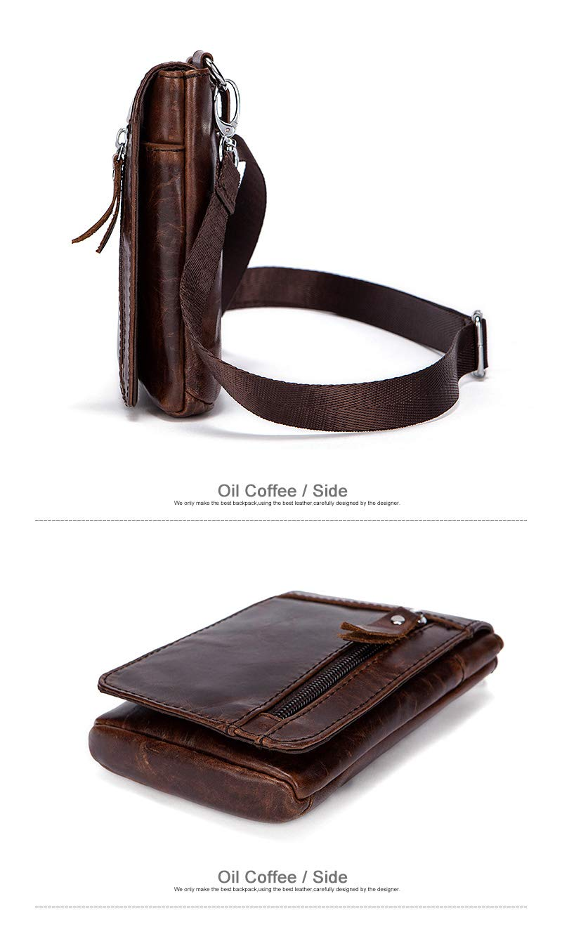 cf3752da1dd Amazon.com: Fashion personality Leather Waist Packs Fanny Pack Belt ...