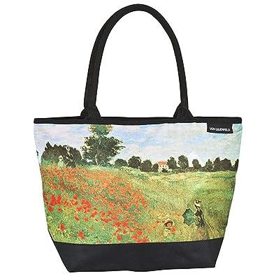 von Femme Bandoulière Motif de coquelicots Claude Floral Lilienfeld Art Besace Champ Sac Cabas Monet rtxRrYqwH