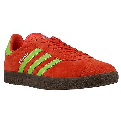 adidas uomini gazzella rossa semi - solare gomma scarpe verdi