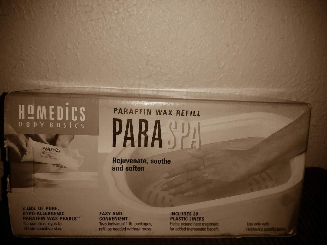 Amazon.com: Baño de parafina ParaSpa Recambio tamaño: par ...