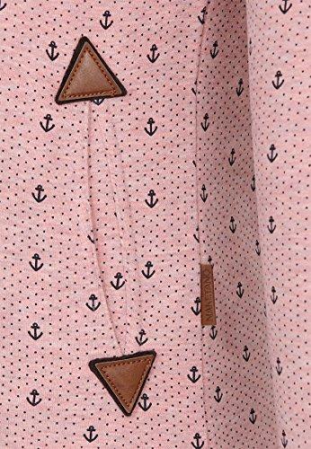 Naketano Extraordinär Female Hoody Schmutzmuschi Pink Melange, XS