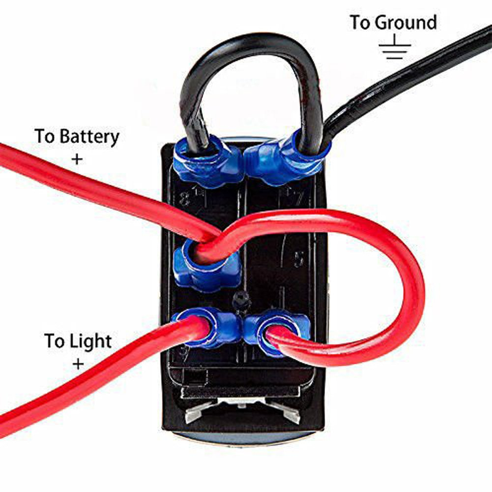 61dz8SAgMEL._SL1001_ amazon com cllena car toggle switch laser blue led rocker switch Dpdt Toggle Switch Wiring Diagram at reclaimingppi.co