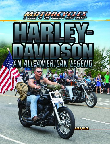 Harley-Davidson: An All-American Legend (Motorcycles: A Guide to the World's Best Bikes) - All American Motorcycles