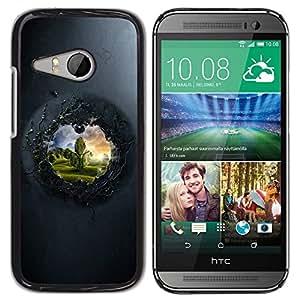 "For HTC ONE MINI 2 / M8 MINI , S-type Ver Para El Otro Lado"" - Arte & diseño plástico duro Fundas Cover Cubre Hard Case Cover"