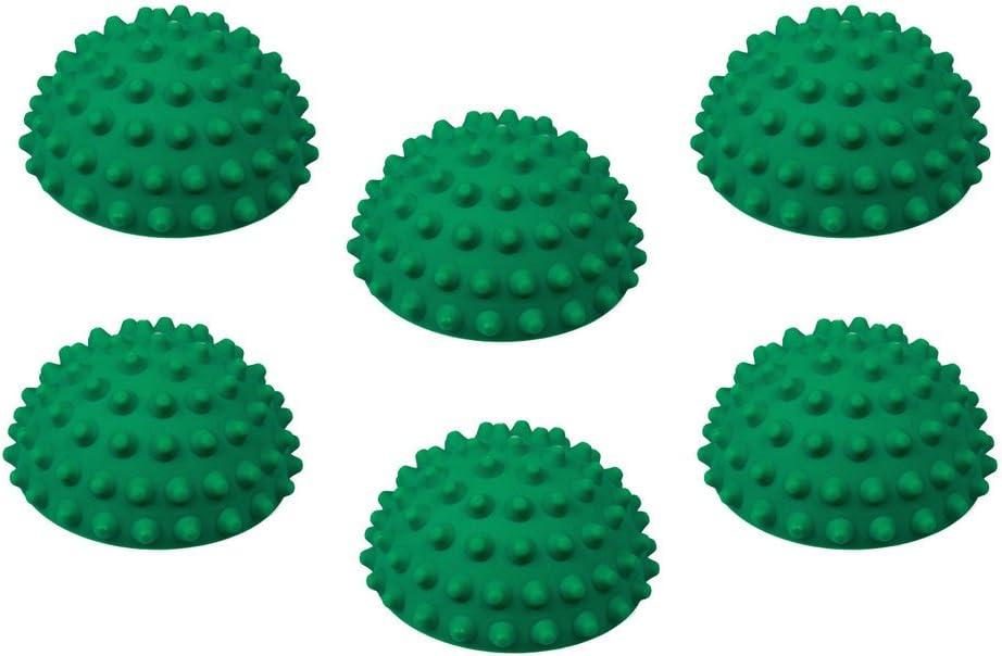 6 x TheraPIE Balance Igel MINI ideal f/ür Kinder Igelball Durchmesser: 9 cm Hell-Gr/ün Gymnastik Igel Kleiner Balance Igel