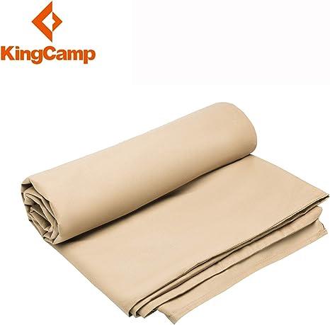 KingCamp Ultraligero Algodón Sábanas para Sacos de Dormir 220 × 86 ...