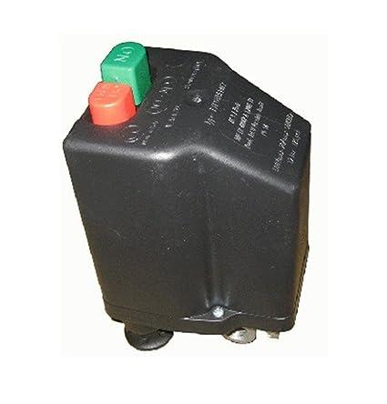 Presostato Italiano marca NE-MA para Compresores Trifásico de 6 a 10 Amp - Conenxión