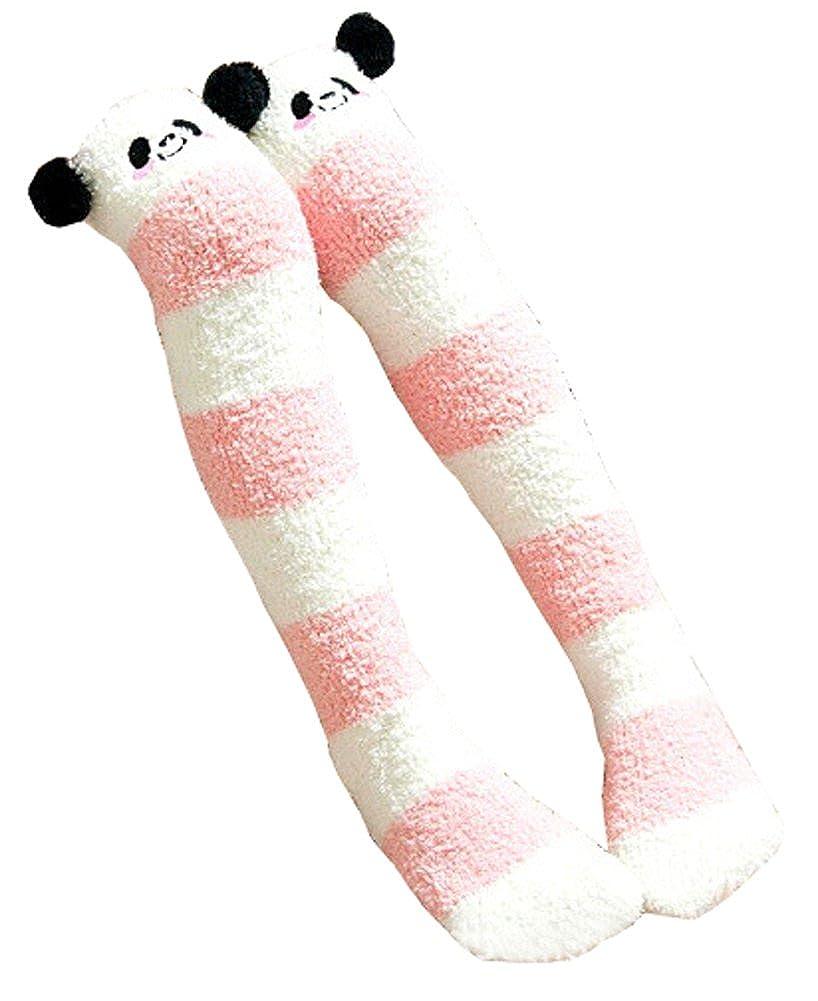 Kniestrumpf Winter Fusselige Socken Vlies Beinwärmer für Mädchen