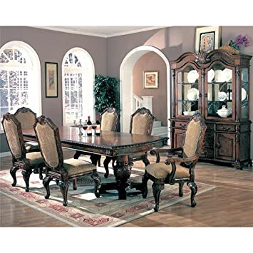 Saint Charles 7 Piece Formal Dining Room Group With China Cabinet