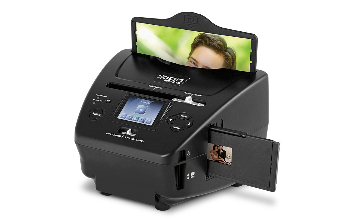 ION Pics 2 SD   Photo, Slide and Film Scanner with SD Card by ION Audio