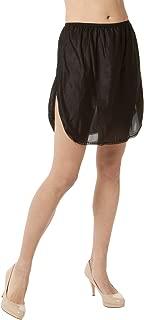 "product image for Malco Modes 18"" Luxury Double Slit Half Slip Underskirt - Nylon w/Lace"