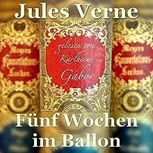 Fünf Wochen im Ballon Hörbuch von Jules Verne Gesprochen von: Karlheinz Gabor
