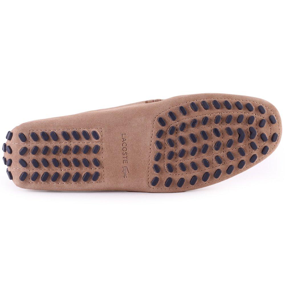 fed8c840f26d17 Lacoste Premium Suedette Concours Mens Moccasins  Amazon.co.uk  Shoes   Bags