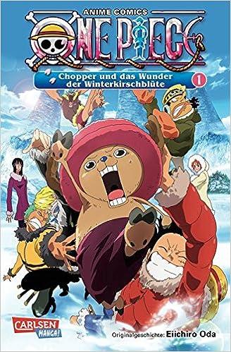 One Piece Chopper Und Das Wunder Der Winterkirschblute 1 Anime Comics Amazonde Eiichiro Oda Jump Bucher