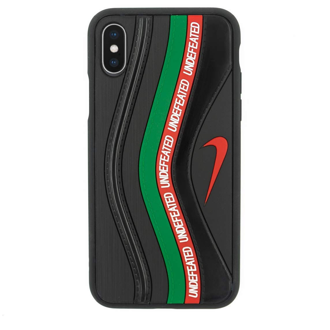 Air Max 97 Shoe Design iPhone 3D Sean Wotherspoon WUndefeated Case Official Print Textured Shock Absorbing Protective Sneaker Soft Fashion Rubber