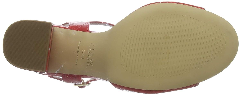 New Look Wide Foot Timothy Zapatos de tac/ón con Punta Abierta para Mujer