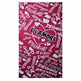 www.lefantasiedicasa.com Soft Love Fleece Sofa Throw Red 130x160. LS444 Pail Heart Cover This warm and enveloping blanket will be a great companion for your romantic evenings.