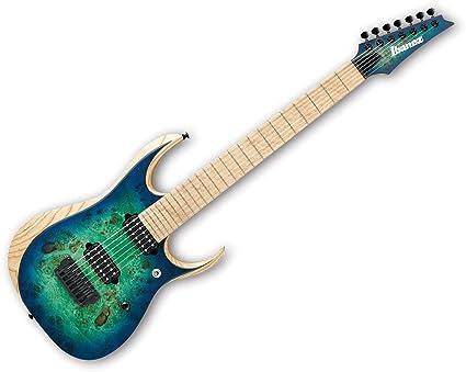 Ibanez rgdix7mpb hierro etiqueta 7 cuerdas Guitarra eléctrica ...