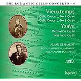 Vieuxtemps, Ysaÿe : Concertos pour violoncelle. Gerhardt, Caballé-Domenech.