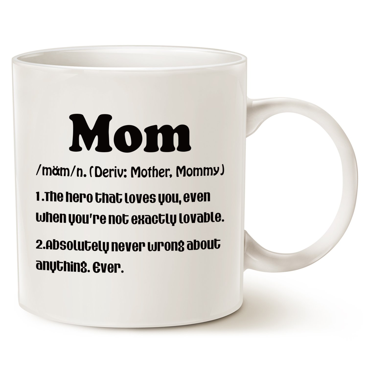 Amazon.com: MAUAG Mother\'s Day Gifts Mom Definition Funny Coffee Mug ...