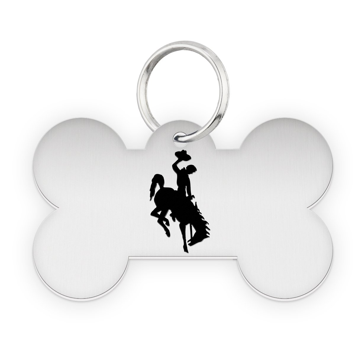 Wyoming Cowboys Dog Tag | Pet Tag | Dog Collar | Necklace | College Pet Tags
