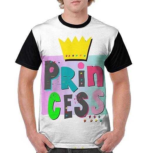 8c3e1bdde79e2 Custom American Apparel Tee Princess Crown Funny Men s Crew Neck Print T- Shirt