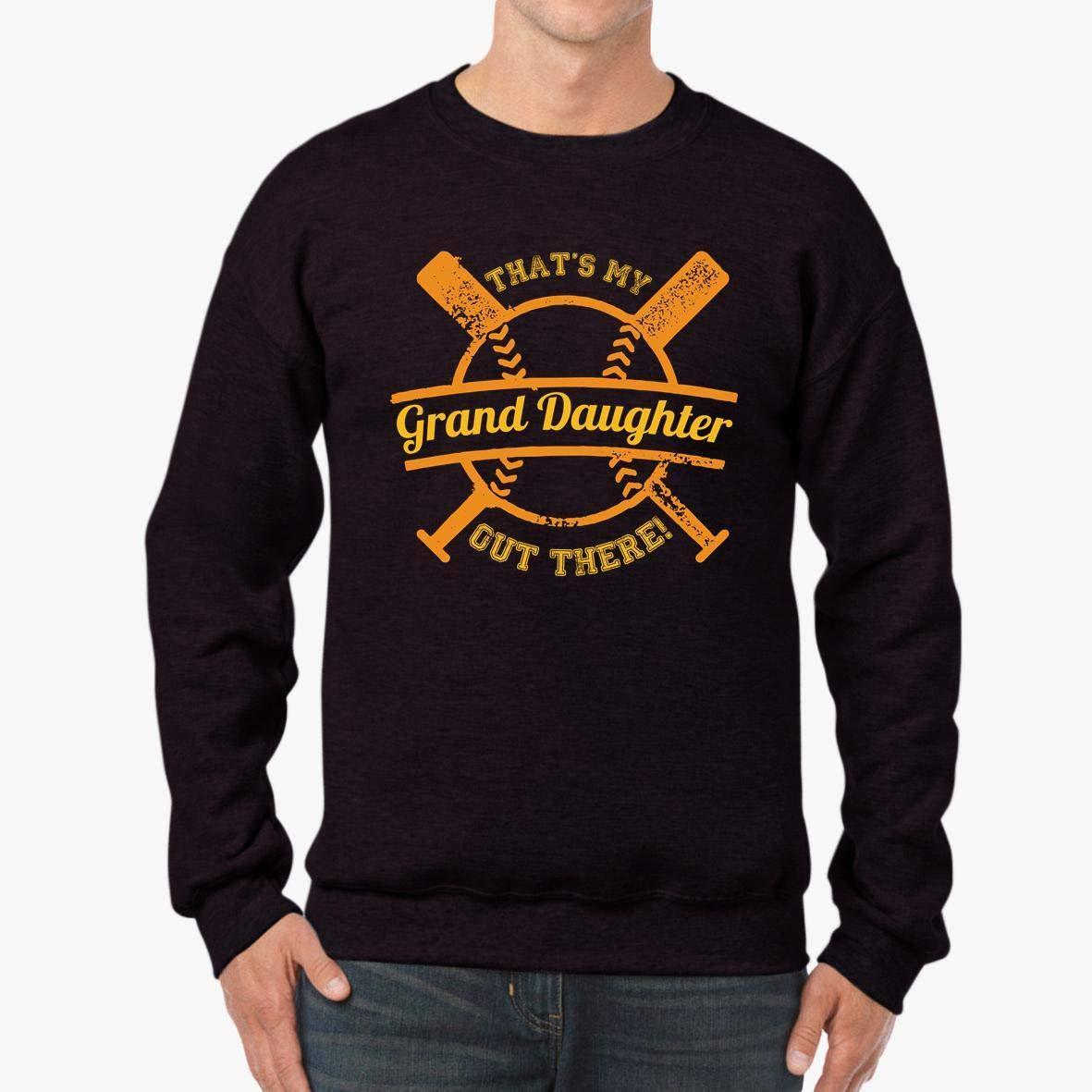 tee Softball Grandparent That/_s My Granddaughter Unisex Sweatshirt