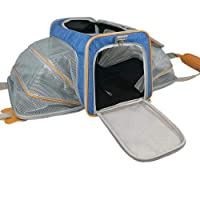 Deals on Adorabae Soft Sided Expandable Foldable Pet Carrier