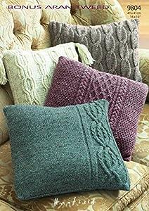Sirdar Accessories Bonus Aran Tweed Cushions Knitting ...