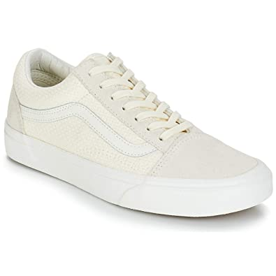 Vans Old Skool Sneaker Damen Beige Sneaker Low: Amazon.de: Schuhe ...