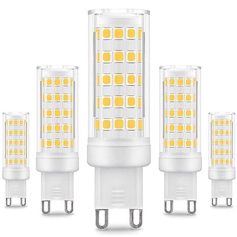 Kindeep - Bombilla LED regulable con casquillo G9 ...