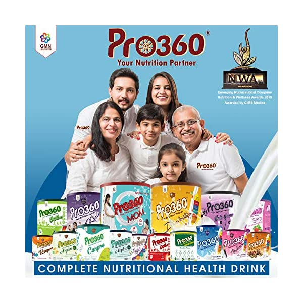 Pro360 Weight Gainer Chocolate Flavour| More Calorie |Dietary Supplement |Ready To Serve |Weight Gain For Men & Women… 2021 July Pro360 weight gain supplement: pro360 weight gain chocolate flavour drink is the right balance of amino acids, vitamins and minerals which helps zip through life in a healthy manner. It allows you to get your training harder and rebuild lean muscle faster. As a part of your diet with pro360, you will find less inclination to order those fatty, sugar-rich food that is detrimental to your health Blended With Effective Ingredients: This weight gainer is blended with extract of maltodextrin, skimmed milk powder, soya protein isolate, lysine, hcl, vitamin and mineral which helps in managing weight gain and also support the immune system Protein Rich Muscle Gainer: Our weight gainer chocolate flavour protein drink contains the rich source of protein which ensures that all the required calories come from good quality protein-carb matrix. As this mass builder is enriched with vitamins and minerals it supports overall well-being and weight management