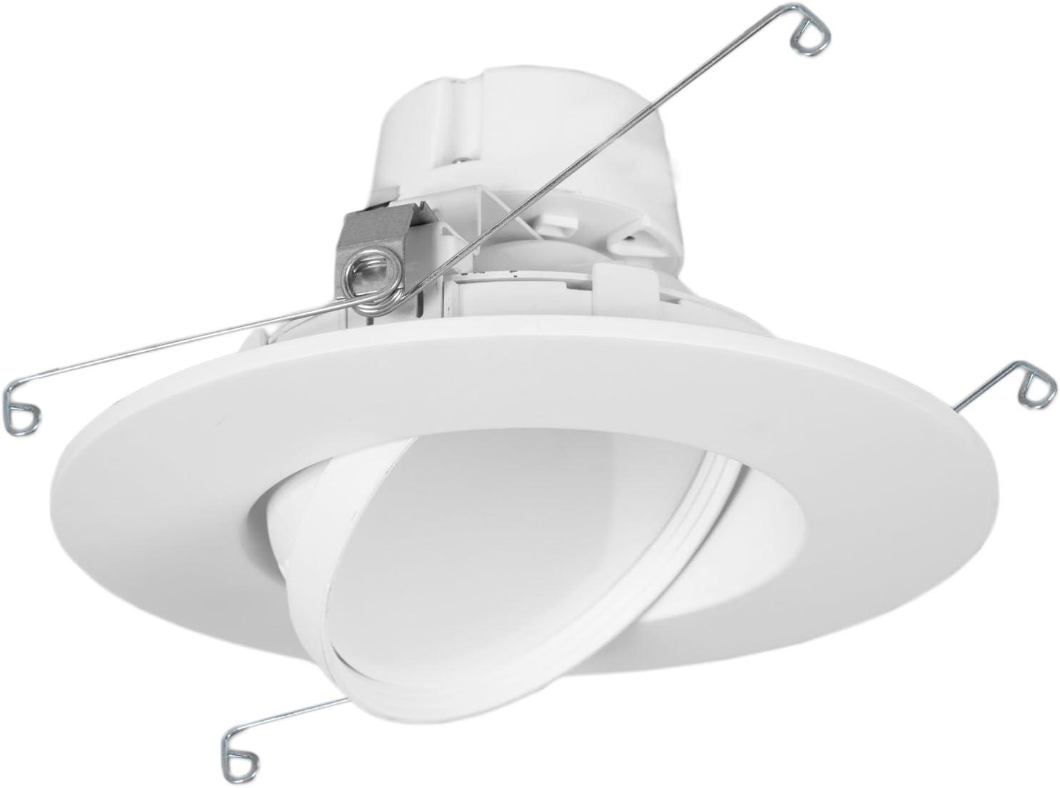 "11 Watt 6""-Inch Rotatable 950 Lumens Maxxima geführt Retrofit Downlight Gimbal Neutral White 4000K Dimmable, Energy Star"