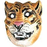 Tigres masque masque de tigre brun animal masque chat sauvage masque d'animal costume accessoire Mardi gras Carnaval