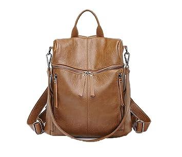 Pteng Dama Mochila de Ocio Personalizadas Vintage Backpack Mochila Diaria Estanca Resistente Mochila de la Ciudad