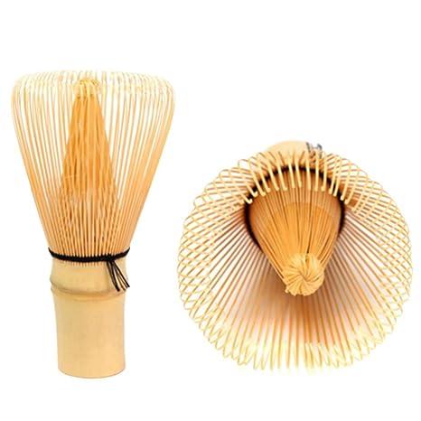 TOOGOO® - Cepillo de batidos Matcha en polvo de bambú verde ...