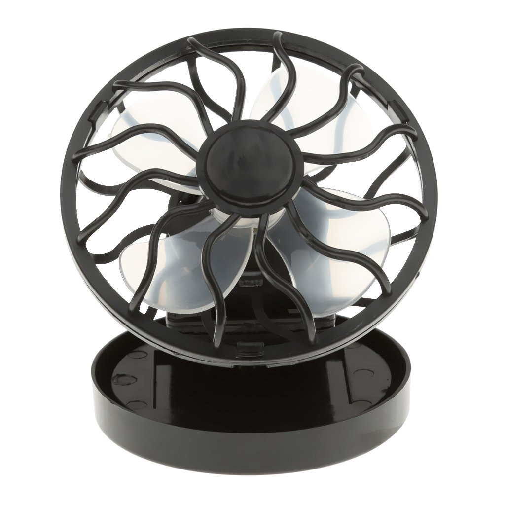 Solar Power Cooler Magideal Mini Clip On Solar Cell Fan Sun Power Energy Panel