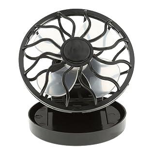 El Mini Clip-en Ventilador De Células Solares Panel De Energía De Energía Del Sol Refrigerador Enfriamiento Al Aire Libre