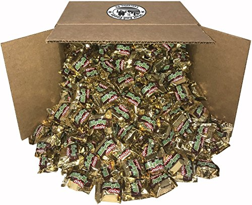 Halloween Candy Buffet - Milky Way, Classic Chocolate Candy Bars (5 lbs) Bulk Minis, Snacks for Party, Buffet, Pinata, Easter Baskets, Halloween, Valentine Day Gift
